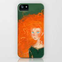 Merida from Brave (Pixar - Disney) iPhone Case by Delucienne Maekerr | Society6