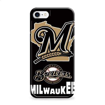 Milwaukee Brewers logos iPhone 6 | iPhone 6S case
