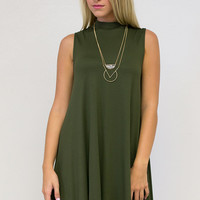 Comfort & Class Sleeveless Dress