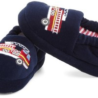 Stride Rite Little Boys' Fire Truck Slipper