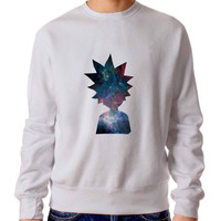 Rick And Morty Galaxy Sweater / Unisex Sweater