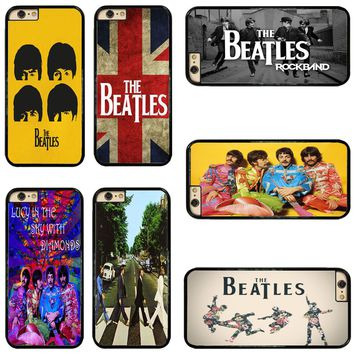 Rock Band The Beatles Classic Hard Phone Case Cover For iPhone/ Touch/ Samsung