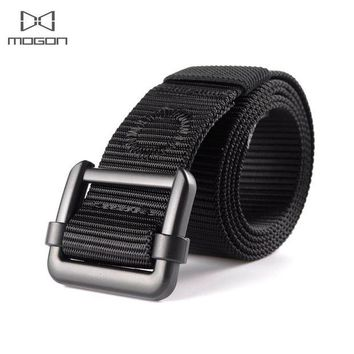 DCCKFS2 2018 Adult Promotion Outdoor Army Tactical Belt Military Nylon Belts Mens Waist Swat Strap With Buckle Rappelling Three Color