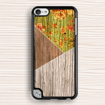 color wood grain ipod touch 5 case,old wood flower ipod 4 case,idea ipod 5 case,old wood floral ipod touch 5 case,girl's gift ipod touch 5 case,classical ipod touch 4,fashion gift ipod touch 4