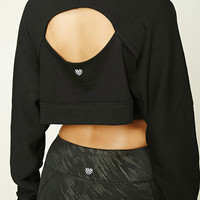 Active Cutout-Back Sweatshirt