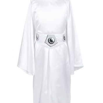 ReliBeauty Girls' Star Wars Princess Leia Costume