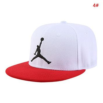 NIKE Jordan Fashion New Embroidery People Sun Protection Women Men Cap Hat 4#