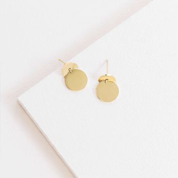 Circle Ahead 14K Earrings