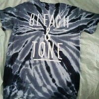 bleach and tone shirt blue - Google Search