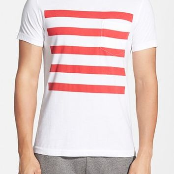 Men's French Connection 'Chatsworth Space Stripe' T-Shirt,