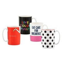kate spade new york Things We Love Porcelain Mug by Lenox