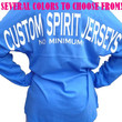 Adult & Youth Custom Spirit Jersey with Front Monogram or Logo