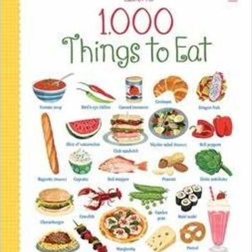 1000 Things to Eat Hardcover – 2015