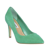 Steve Madden - POINTED GREEN SUEDE