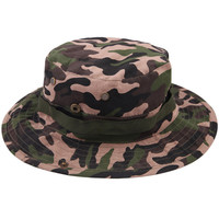 Multi Color Camouflage Fisherman Bucket Hat Cap