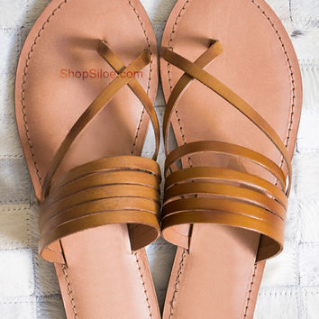 Strappy Leather Sandal