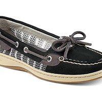Angelfish Breton Stripe Mesh Slip-On Boat Shoe