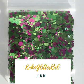 Holographic Glitter Mix Dots - Jam
