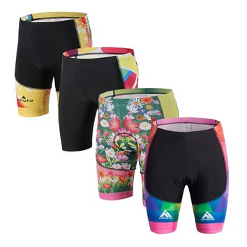 Women Bicycle 3D Gel Padded Lycra Cycling Shorts ciclismo MTB Bike Outdoor Sports cycling Clothings Shorts
