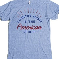Athletic Blue T-Shirt | Country Music Shirts