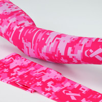 Sleefs BCA Pink Ribbon Digital camo pink ribbon Arm Sleeve