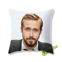 Ryan Gosling Square Pillow Cover