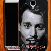 Johnny-depp-hollywood-actor smoke iphone 5/ iphone 4/ iphone 4S covers case-samsung galaxy s2/ s3/ s4 case-A24062013-1