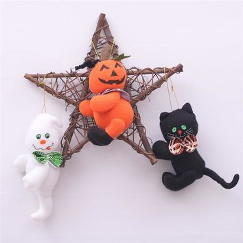 Halloween Decorations Ghost Pumpkin Pendant Bar Home Halloween Party Decoration Children's Gifts Festive Event Party Supplies