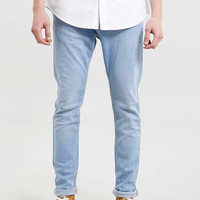 BRIGHT BLEACHED WASHED Stretch SKINNY JEANS