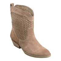 Nine West: Shoes > All Booties > SHYA SUEDE PULL-ON BOOTIES - BOOTIES