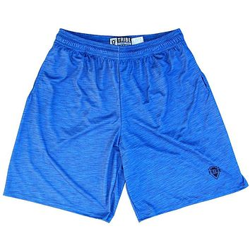 Royal Heather Lacrosse Shorts