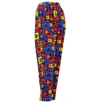 Superman   Squares Sleep Pants = 1946133188