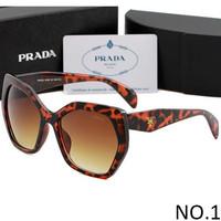 PRADA 2018 new summer men and women stylish sunglasses F-ANMYJ-BCYJ NO.1