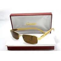Perfect Cartier Women Popular Summer Sun Shades Eyeglasses Glasses Sunglasses