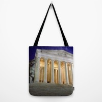 Thomas Jefferson Memorial Tote Bag by UMe Images