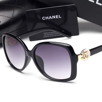 CHANEL Personality Fashion Popular Sun Shades Eyeglasses Glasses Sunglasses H-YJ-LHSTC