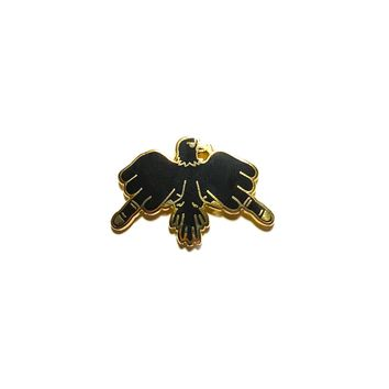 Finger Bird Enamel Pin