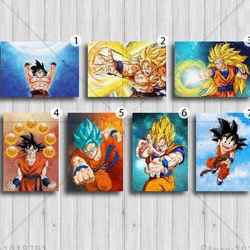 5D DIY Diamond Painting Dragon Ball Super Corpse Bride Painting Cross Stitch Rhinestone Decoration needlework wall picture