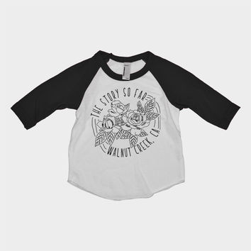 The Story so Far - Roses Baseball Tee | Merch Babies