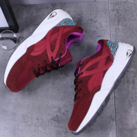Puma Running Sport Casual Shoes Women Men Sneakers Print shoes Red
