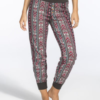 Full Tilt Dream Mixed Media Womens Jogger Pants Multi  In Sizes