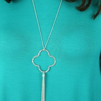 Just the Two of Us Necklace in Silver