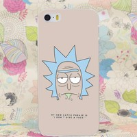 Rick and Morty Quote Case