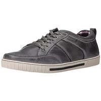 Steve Madden Mens Pipeur Leather Casual Fashion Sneakers