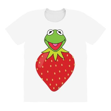 Kermit Strawberry All Over Women's T-shirt