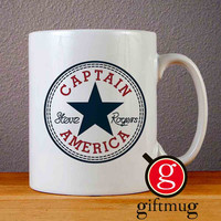 Classic Captain America Steve Roger Ceramic Coffee Mugs