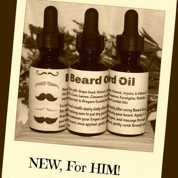 Beard Oil, Father's Day, Tame the Beast, Skin Care for Him, Boyfriend Gift, Beard Care, Beard Stuff, Father's Day Gift, Love your Beard