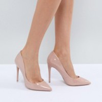 Faith Chloe Pointed Heeled Shoes at asos.com