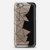 Abstract Mountain Black iPhone 6 case by Project M | Casetify