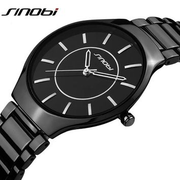 SINOBI Brand Men's Steel Watch